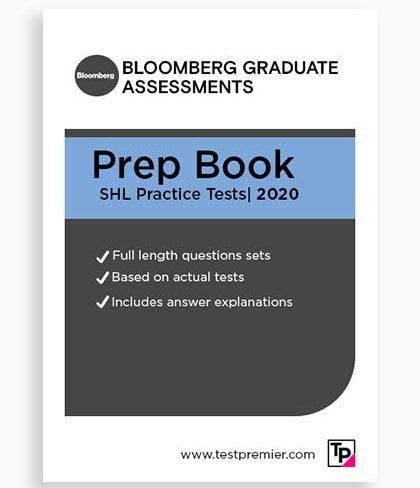 Bloomberg Graduate Assessment Practice Questions pack