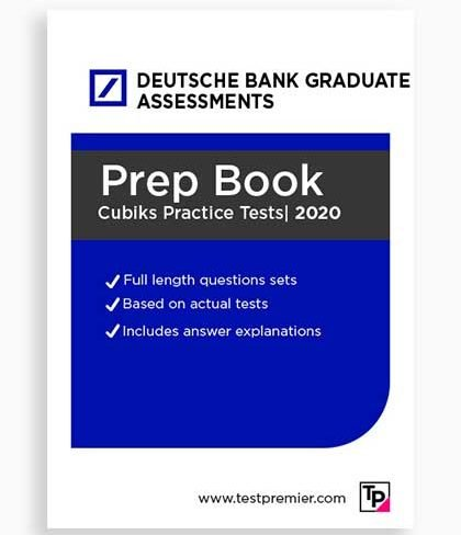 Deutsche Bank Graduate Assessment Practice Questions pack