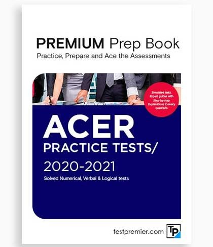 ACER Graduate Assessment Practice Questions pack